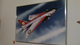 Airfix E.E. Lightening F1.A [1998 1/48th Scale Release box artwork huge picture from Humbrol HQ